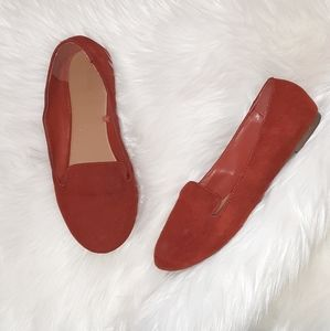 Forever 21 | Burnt Orange Loafer Flats